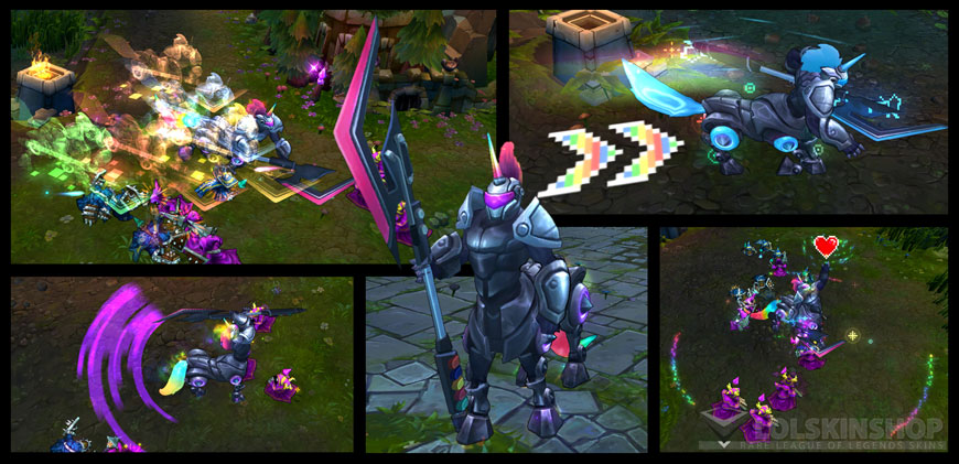Arcade Hecarim skin for League of Legends