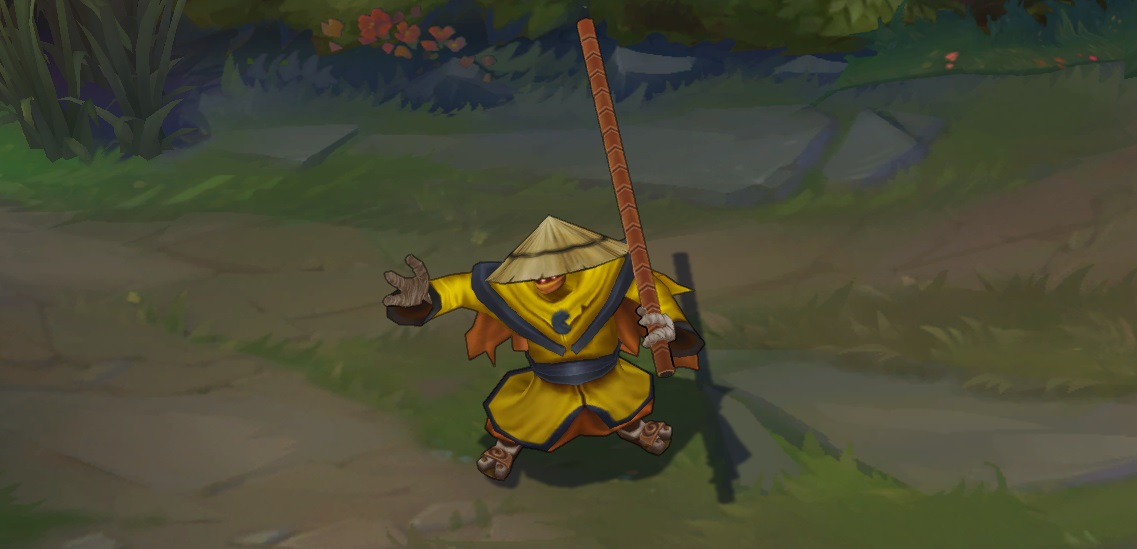 Pax Jax rare skin for League of Legends ingame picture