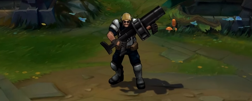 riot graves skin for league of legends ingame picture