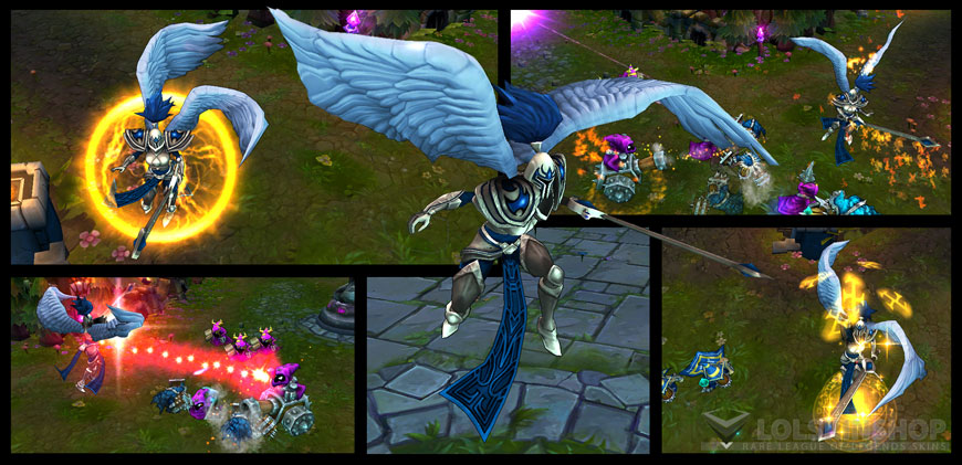 Silver Kayle Skin For Sale Get It Now