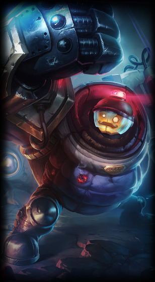 Riot Blitzcrank skin for League of Legends ingame picture splash art
