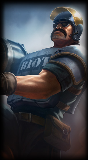 Riot Graves skin for League of Legends ingame picture splash art