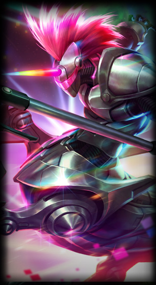 Arcade Hecarim skin for League of Legends ingame picture splash art