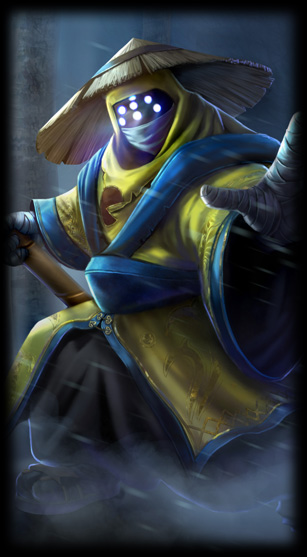 Loading screen picture of the Pax Jax rare league of legends skin