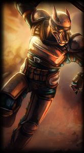 Riot Nasus skin for League of Legends ingame picture splash art
