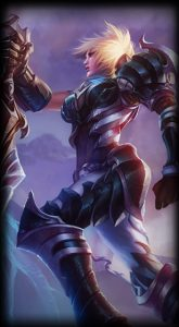 Championship Riven skin for League of Legends ingame picture splash artChampionship Riven skin for League of Legends ingame picture splash art