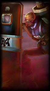 Riot Singed skin for League of Legends ingame picture splash art