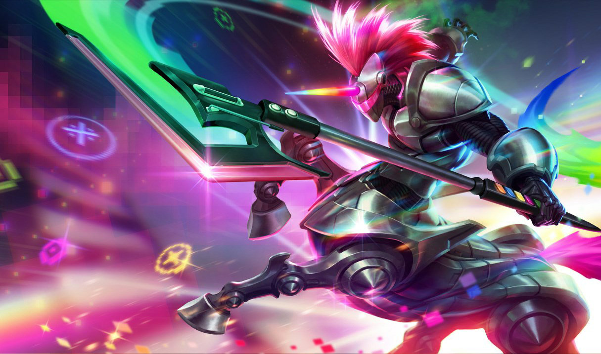 splash art Arcade Hecarim