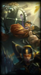 fnatic gragas skin for league of legends ingame picture splash art