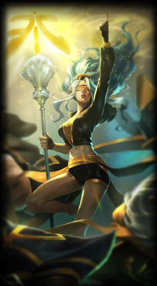 fnatic janna skin for league of legends ingame picture splash art
