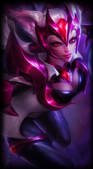 Challenger ahri skin for League of Legends ingame picture splash art