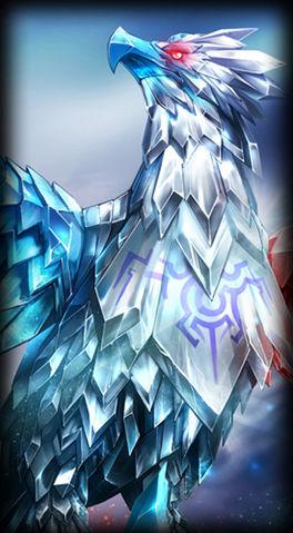 Team Spirit Anivia skin for Leauge of Legends ingame picture splash art