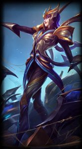 Victorious Elise skin for league of legends ingame picture splash art