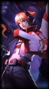 TPA Ezreal skin for League of legends ingame picture splash art