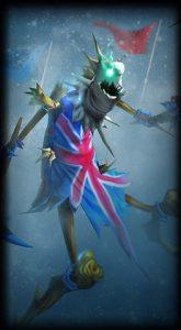 Union Jack Fiddlesticks skin for Leauge of Legends ingame picture splash art