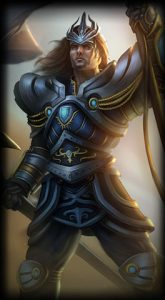 Victorious Jarvan skin for league of legends ingame picture splash art