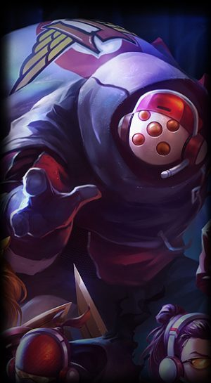 loading screen picture of skt t1 jax league of legends skin