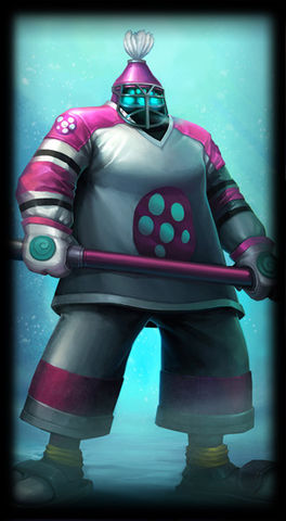 The Mighty Jax skin for Leauge of Legends ingame picture splash art