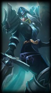 Judgement Kayle skin for league of legends ingame picture splash art