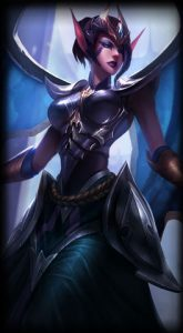 Victorious Morgana skin for league of legends ingame picture splash art
