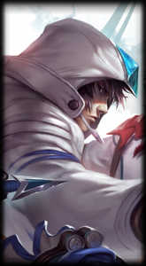 Samsung Galaxy White Talon skin for League of Legends ingame picture splash art