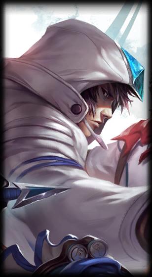 Samsung Galaxy White Talon skin for League of Legends ingame picture splash art