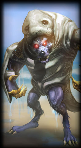Urf the Manatee Warwick skin for league of legends ingame picture splash art