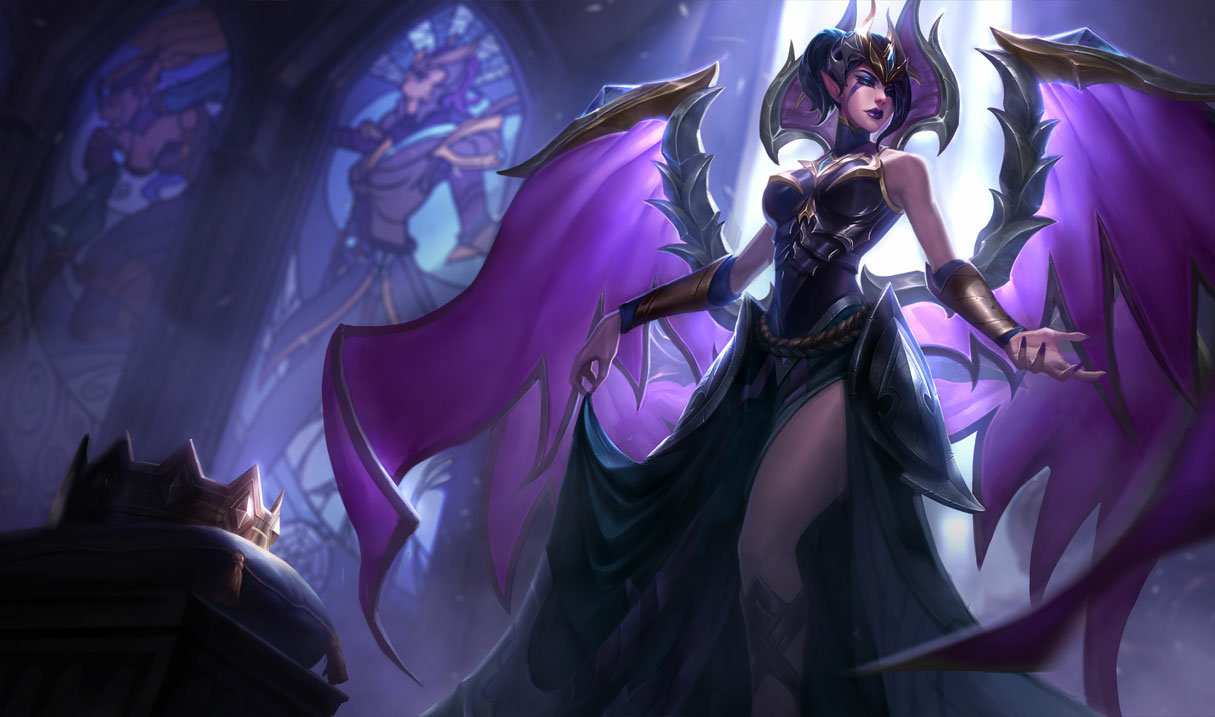 splash art victorious morgana