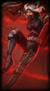 Silverfang Akali skin for League of Legends ingame picture splash art