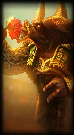 Matador Alistar skin for League of Legends ingame picture splash art