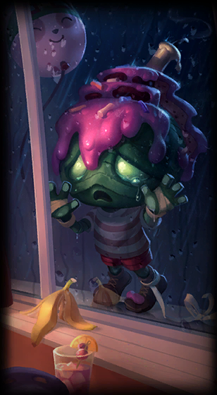 Surprise Party Amumu skin for League of Legends ingame picture splash art