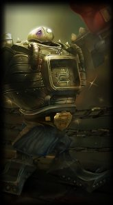 Boom Boom Blitzcrank skin for League of Legends ingame picture splash art