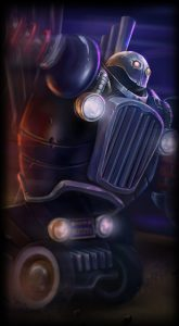 Piltover Customs Blitzcrank skin for League of Legends ingame picture splash art
