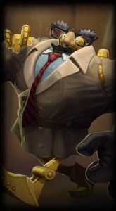 Definitely Not Blitzcrank skin for League of Legends ingame picture splash art