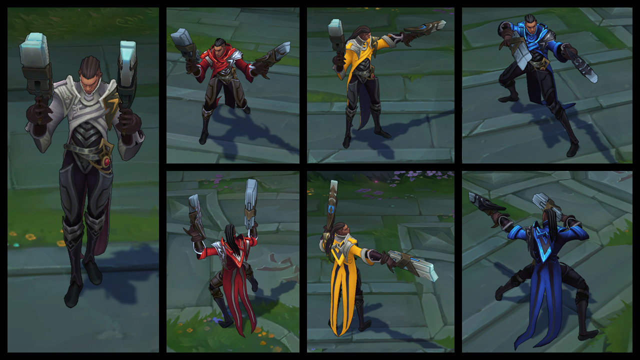 Lucian Prime Chroma Pack for SALE! Get it NOW - 590 RP