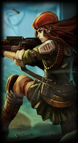 loading screen Resistance Caitlyn