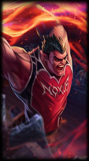 splash art Dunkmaster Darius