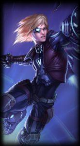 Pulsefire Ezreal skin for League of Legends ingame picture splash art