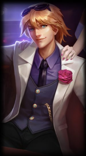 loading screen Debonair Ezreal