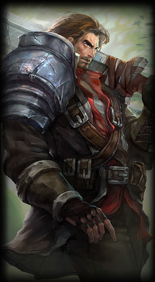 Rugged Garen Skin For League Of Legends In Picture Splash Art