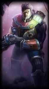 Jailbreak Graves skin for League of Legends ingame picture splash art