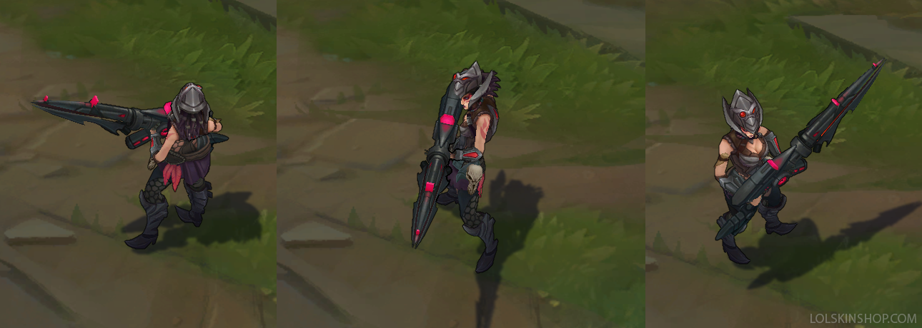 Headhunter Caitlyn skin for league of legends ingame picture