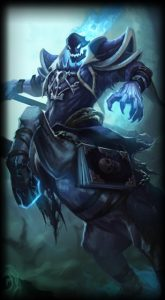 Reaper Hecarim skin for League of Legends ingame picture splash art