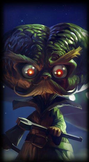 Alien Invader Heimerdinger loading screen