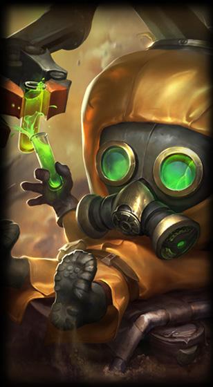 Hazmat Heimerdinger - League of Legends skin - LoL Skin