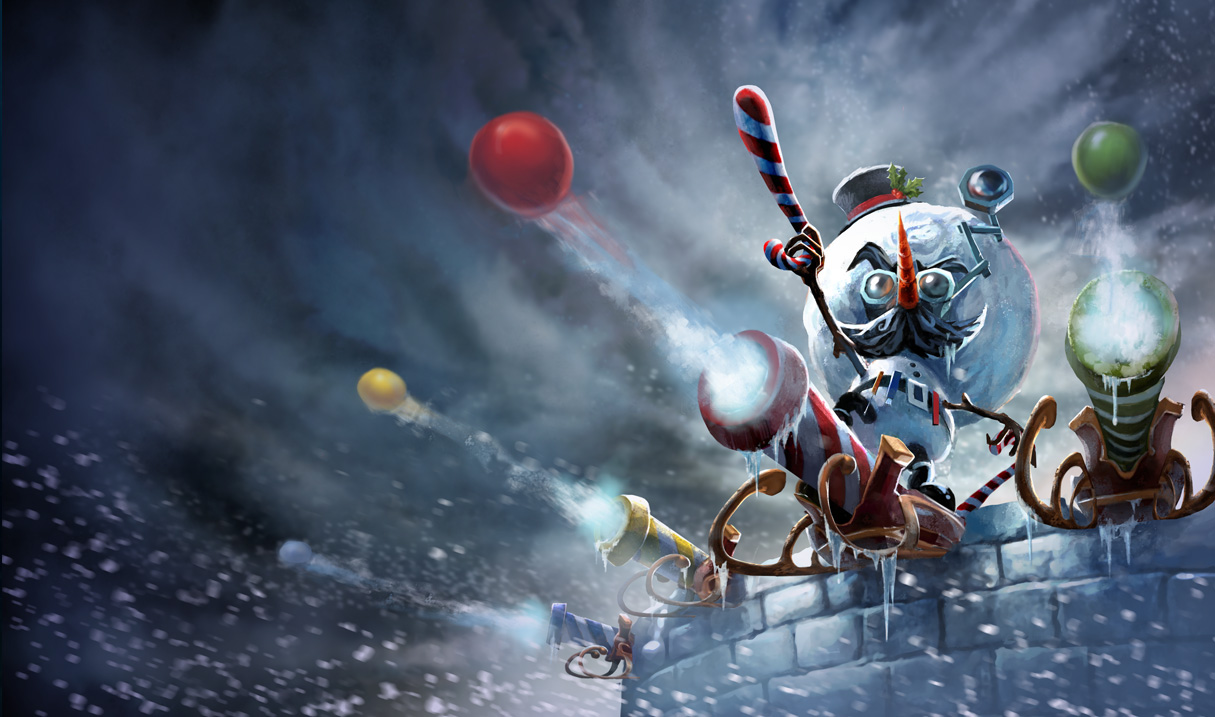 splash art Snowmerdinger