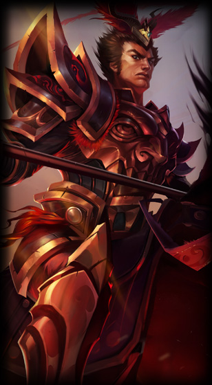 Warring Kingdoms Jarvan IV - League of Legends skin - LoL Skin