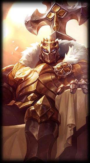 King of Clubs Mordekaiser skin for League of Legends ingame picture splash art model lol skin