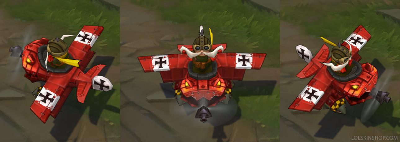 red baron corki