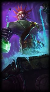 Mad Scientist Singed skin for League of Legends ingame picture splash art